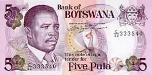 Botswana5Pula92