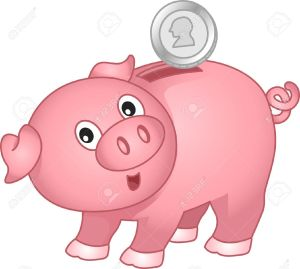 17581463-Illustration-of-a-Piggy-Bank-with-coin-Stock-Illustration-cartoon-pig-money