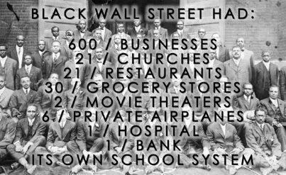 Image result for black wallstreet